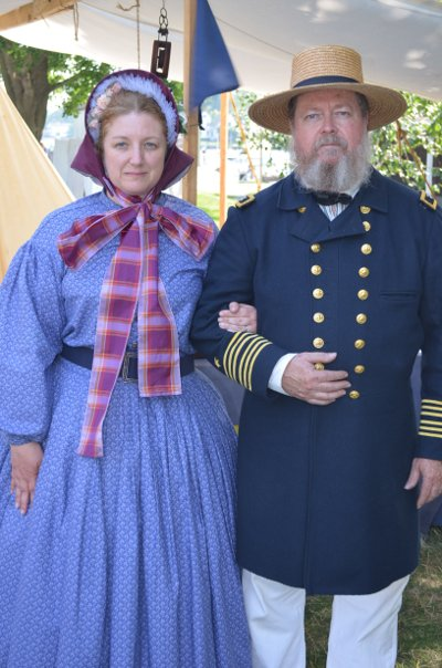 Captain Lanman and wife