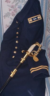 US Navy Officer Civil War Uniform
